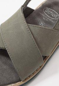 Scholl - TRIOLINE - Sandals - khaki - 2