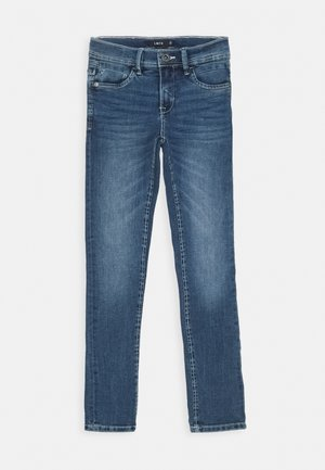 NLMPILOU - Straight leg jeans - medium blue denim