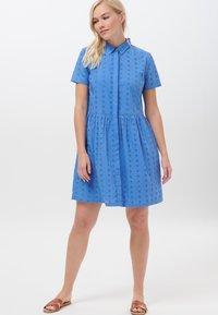 Sugarhill Brighton - KEELEY BRODERIE - Shirt dress - blue - 1