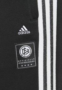 adidas Performance - DEUTSCHLAND DFB ICONS PANT - National team wear - black - 5