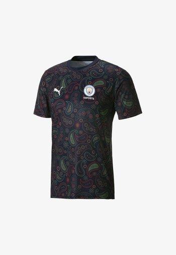 MAN CITY - Print T-shirt - peacoat