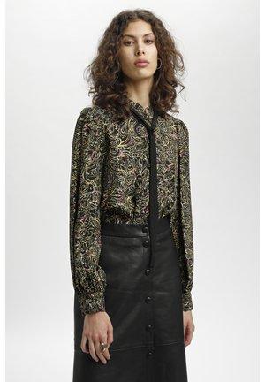 JADAKB - Button-down blouse - gold paisley