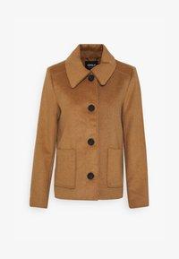 ONLALLY ISLA JACKET - Light jacket - camel/melange