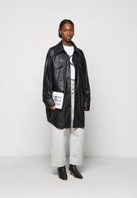 MM6 Maison Margiela - Short coat - black - 1