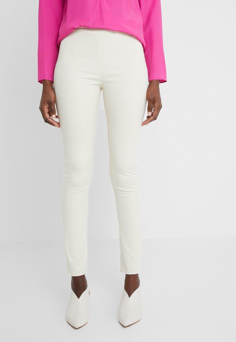 Patrizia Pepe - HIGH WAIST PANT - Kalhoty - antica beige