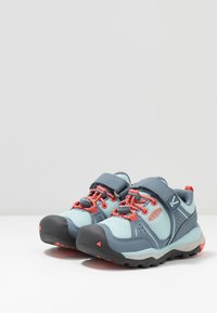Keen - TERRADORA II SPORT - Hiking shoes - flint stone/coral - 3