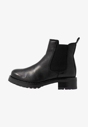 BIACORAL CHELSEA - Cowboy/biker ankle boot - black