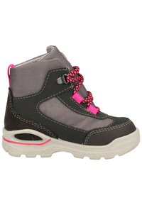 Pepino - Lace-up ankle boots - grigio/graphit/pink 452 - 6