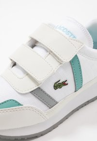 Lacoste - PARTNER  - Trainers - white/turquoise - 2