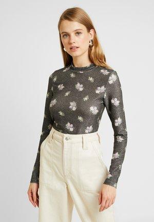 ELIN - Long sleeved top - black