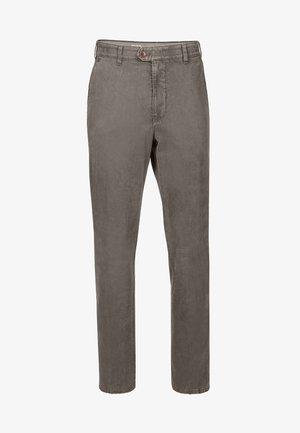 MIT PRAKTISCHEM KOMFORTDEHNBUND - Trousers - grey