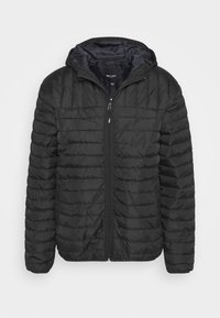 Only & Sons - ONSPAUL QUILTED HOOD JACKET - Light jacket - black - 4