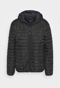 ONSPAUL QUILTED HOOD JACKET - Light jacket - black