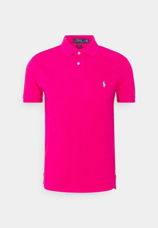 Polo Ralph Lauren BASIC - Koszulka polo - aruba pink/fioletowy Odzież Męska GCJS