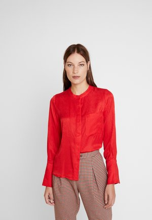 HARPER - Button-down blouse - red