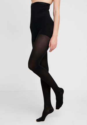 50 DEN WOMAN SHAPE TIGHTS SOFT TOUCH - Strømpebukser - black