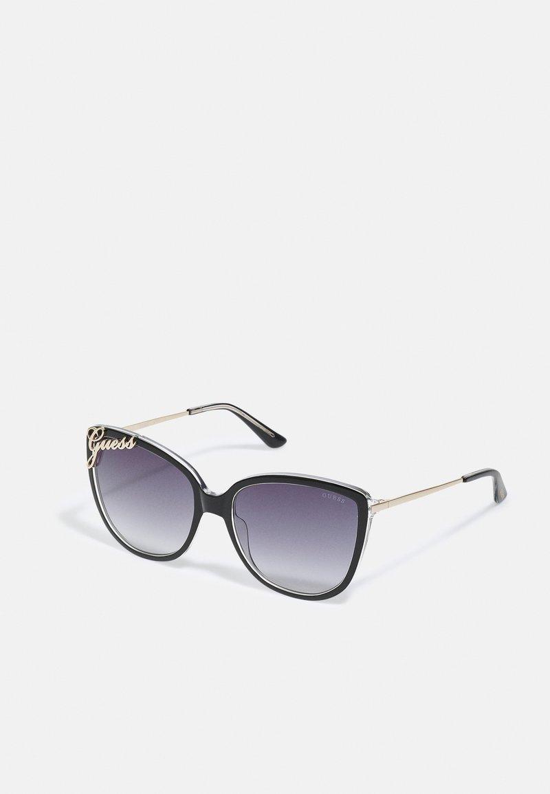 Guess - Sunglasses - shiny black/smoke