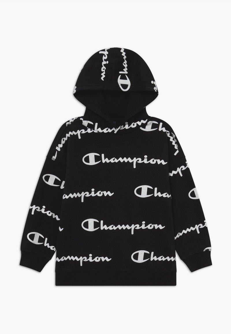 Champion - LEGACY AMERICAN CLASSICS UNISEX - Felpa con cappuccio - black/white