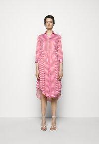 HUGO - EBIKA - Košilové šaty - open pink - 0