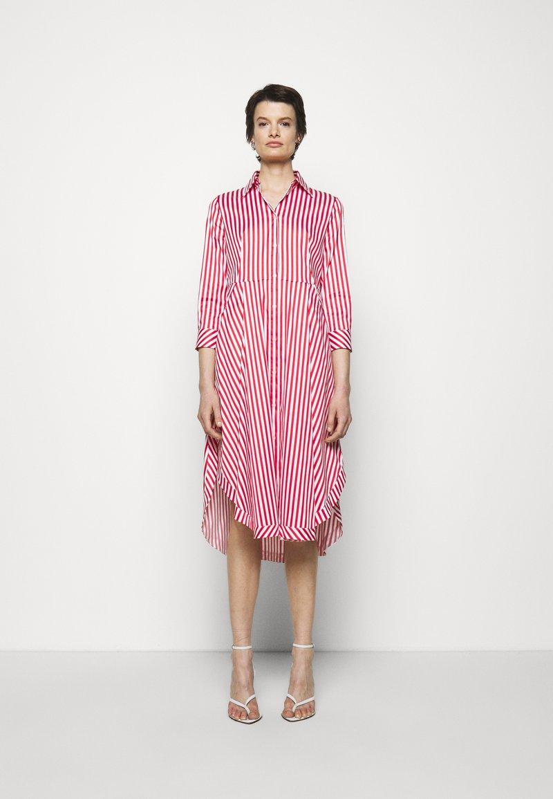 HUGO - EBIKA - Košilové šaty - open pink