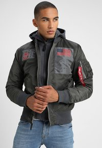 Alpha Industries - BLOOD CHIT - Veste mi-saison - greyblack - 3