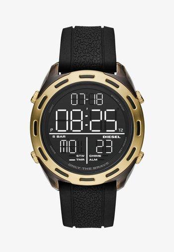 CRUSHER - Digital watch - black
