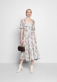 Stevie May - SAFFRON MIDI DRESS - Day dress - off-white - 1