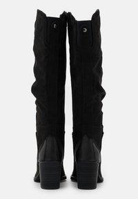 s.Oliver - Vysoká obuv - black - 3