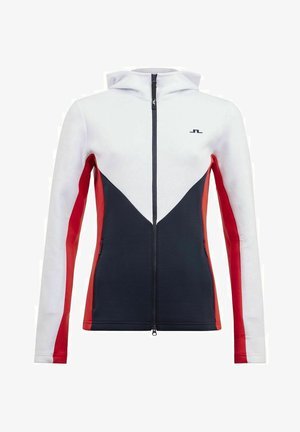 CRYSTAL - Soft shell jacket - racing red