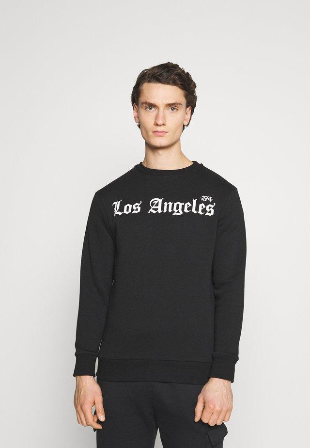 LA CREW - Collegepaita - black