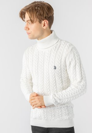 CHASE KNIT - Jumper - snow white