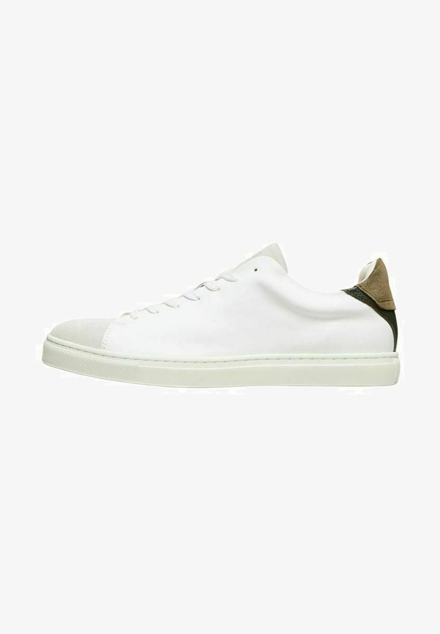 SLHDAVID NEW CONTRAST TRAINER - Sneakers laag - grape leaf