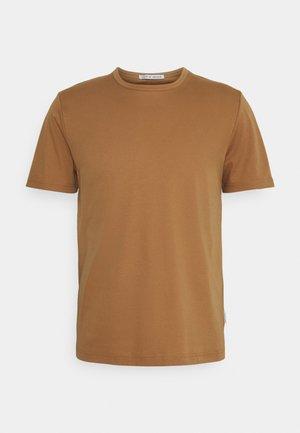 OLAF - Basic T-shirt - tobacco brown