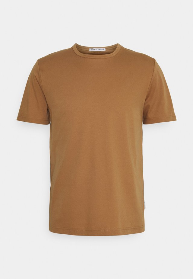 OLAF - T-shirt basique - tobacco brown