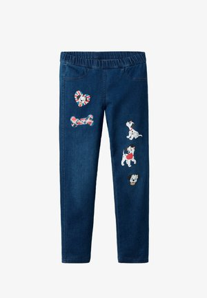 DISNEY - Leggings - Trousers - blau