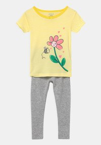 Carter's - FLOWER 2 PACK - Pyjamas - green/yellow - 2