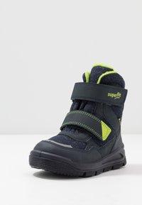Superfit - MARS - Winter boots - blau/grün - 2