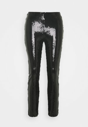 ONLRONA SEQUENCE - Trousers - black