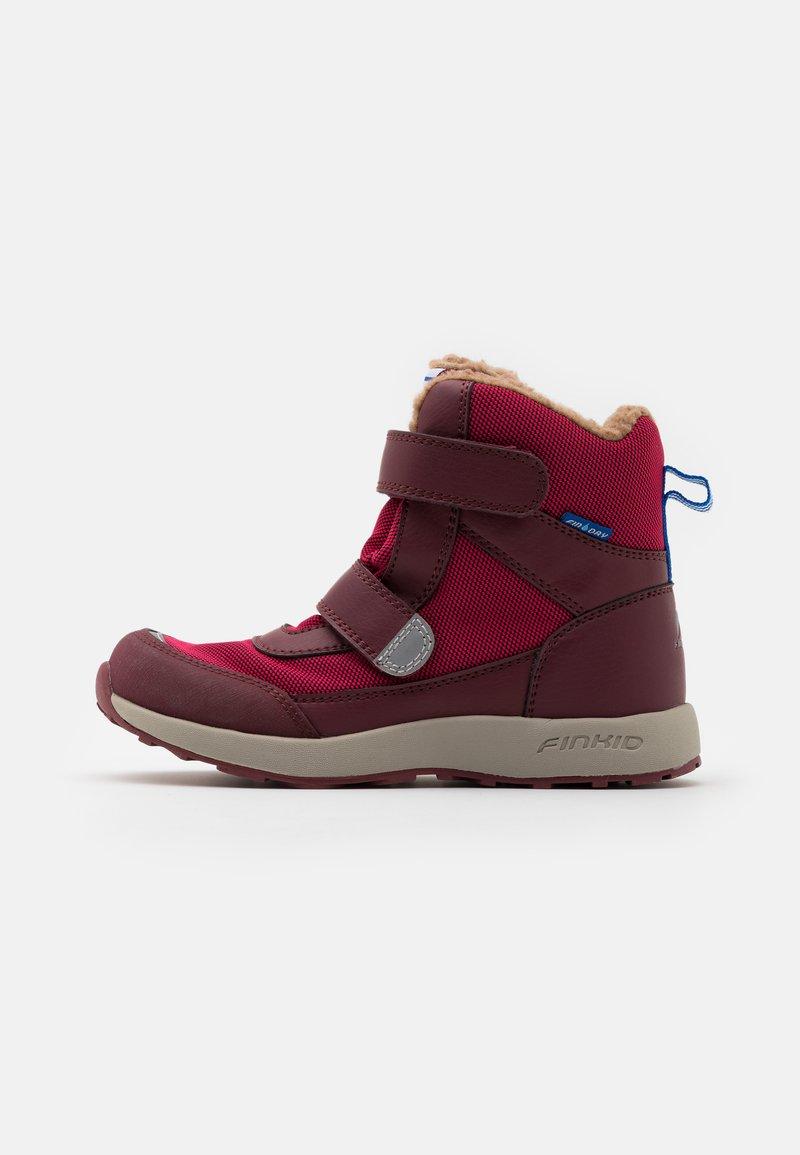 Finkid - LAPPI UNISEX - Zimní obuv - persian red/cabernet