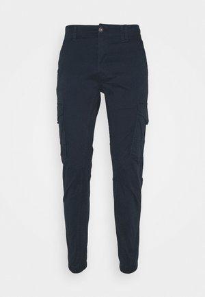 JJIPAUL JJFLAKE  - Pantaloni cargo - navy blazer