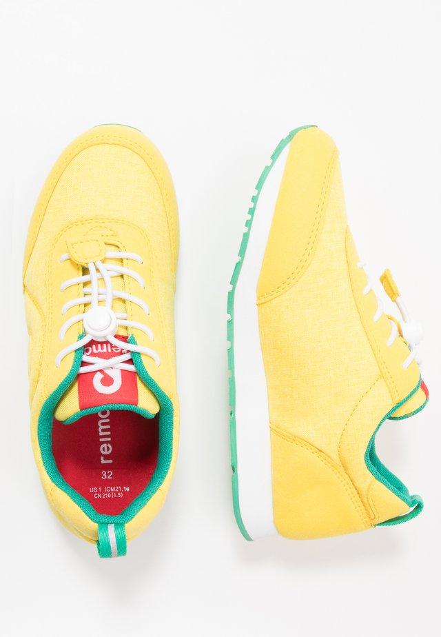 ELEGE - Sneakersy niskie - lemon yellow