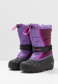 Sorel - YOUTH FLURRY - Snowboot/Winterstiefel - purple dahlia/paisley purple - 3