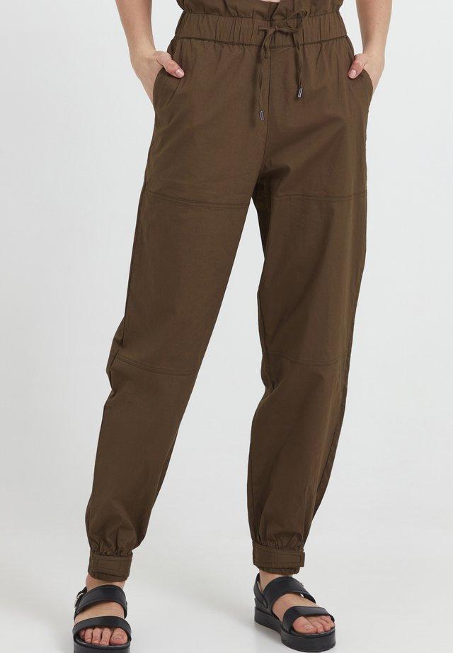 Pantalon classique - wren