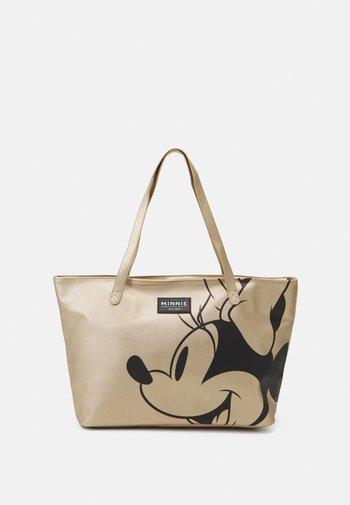 MINNIE MOUSE NOSTALGIA - Shopping bag - gold