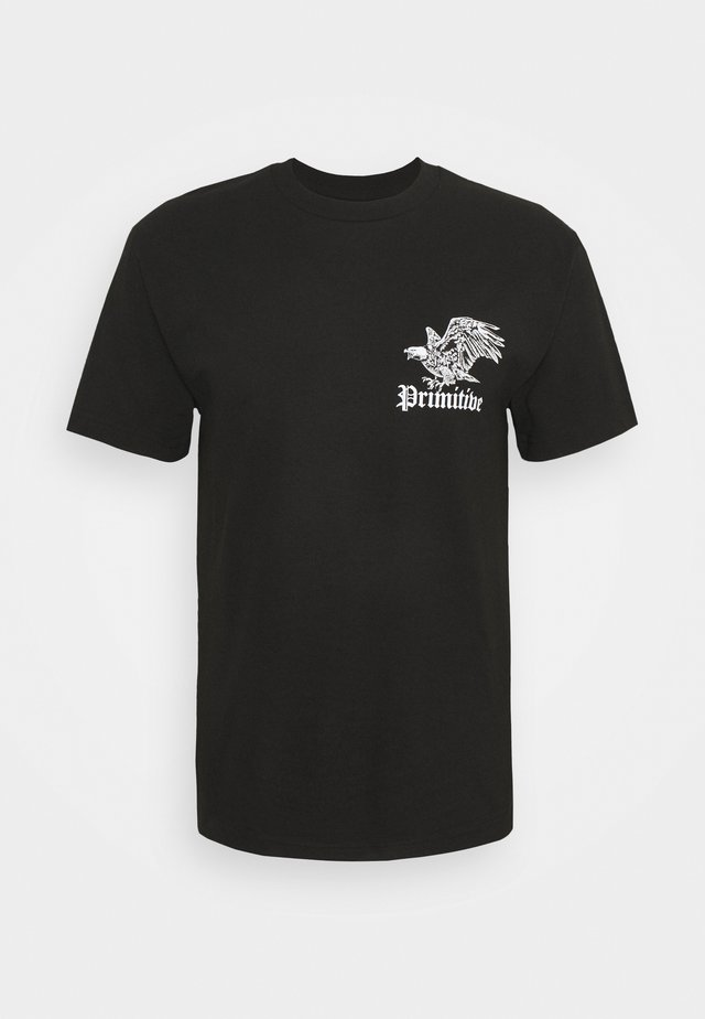PREDATORS TEE - Print T-shirt - black
