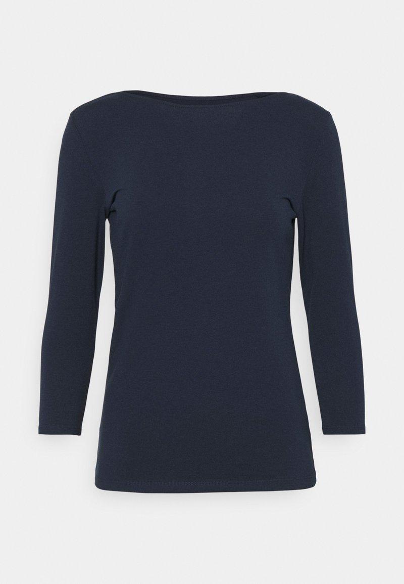 Marks & Spencer London - FITTED SLASH - Langærmede T-shirts - dark blue