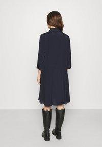 Saint Tropez - ELODIE DRESS - Košilové šaty - blue deep - 2