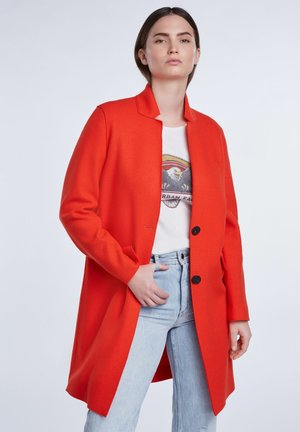 MANTEL - Classic coat - racing red