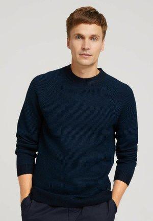 Jumper - navy blue stripe
