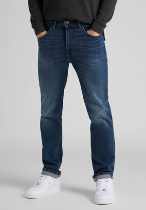 BROOKLYN  - Jeans straight leg - mid worn park